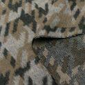Твид шерстяной (бежевый собачий зуб) (007490)