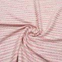 Твид шанель (розовые волны) (007720)