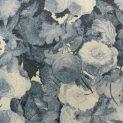 Драп шерстяной (живопись на воде, синий) (008966)