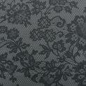 Шерсть костюмная (серый гипюр) (009009)