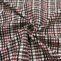 Креп шелковый костюмный (пье-де-пуль, черри) (010171)