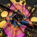 Шелковый платок, именной (Versace) (010333)