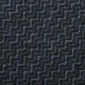 Твид шерстяной именной MSG (пепельно-синий зиг-заг) (010459)