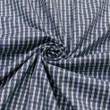 Хлопок сорочечный (туманно-синее переплетение) (011356)