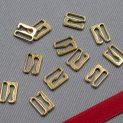 Крючок-регулятор для бюстгальтера, золото, 10 мм (621 DG/10) (009805)