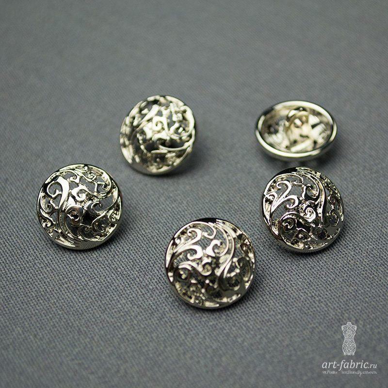 b3ba8d5c9531 Купить Пуговицы металлические (15мм), арт. 003884